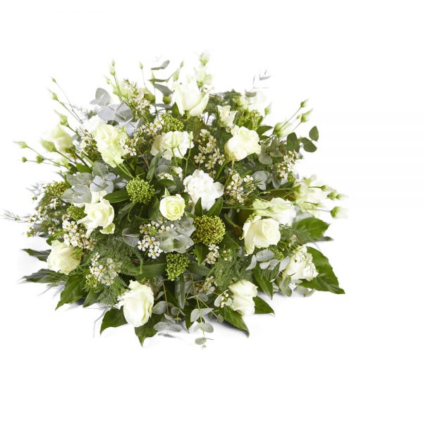 Funeral flowers - White posy