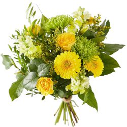 Order a yellow bouquet for delivery in The Hague