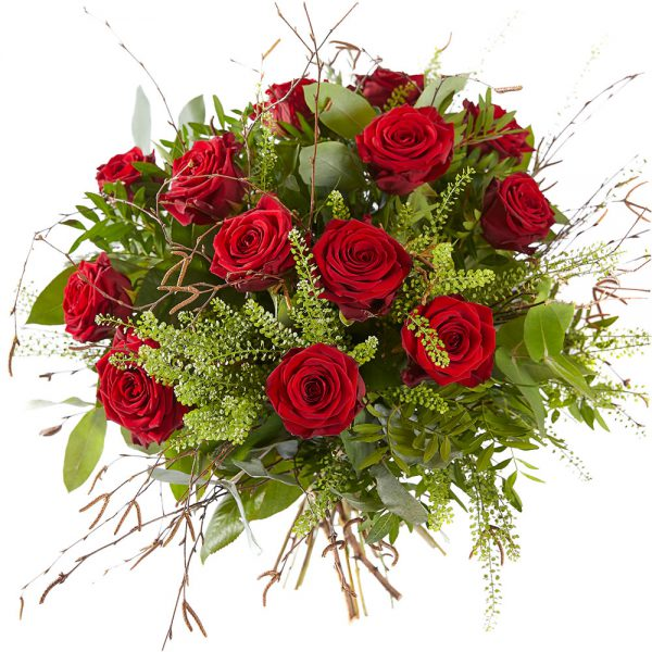 Order a bouquet of red roses, delivery in The Netherlands
