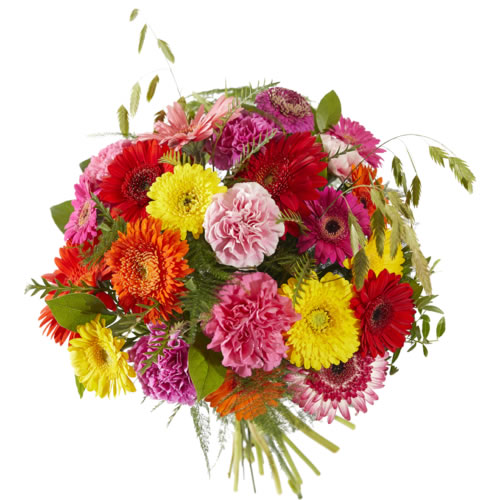 Send a bright bouquet to cheer up somebody