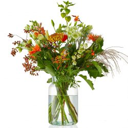 Warm autumn bouquet