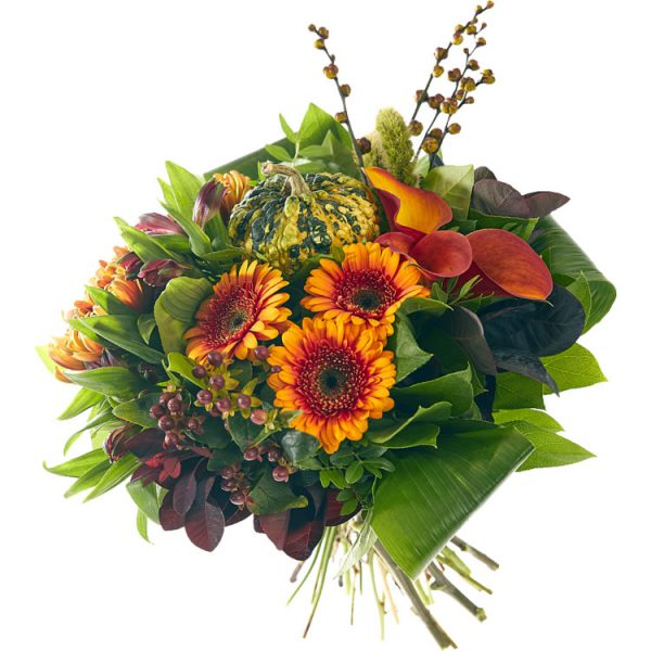 Enjoy the autumn with this warm autumn bouquet