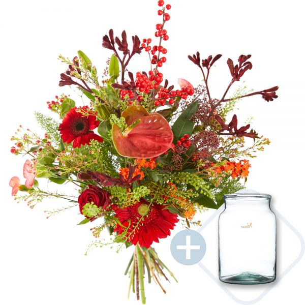 Trendy christmas bouquet