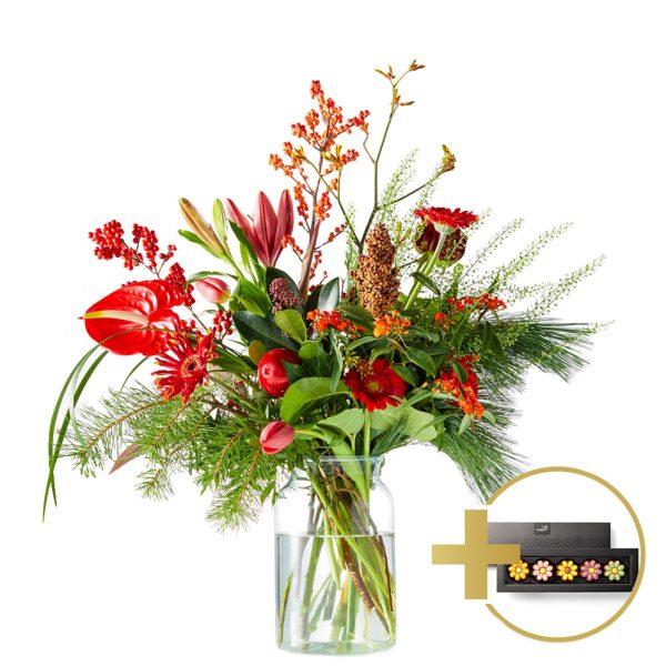 Trendy christmas bouquet