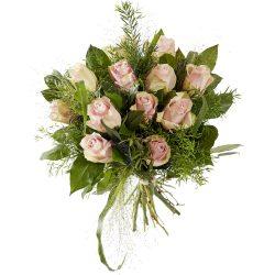 Boeket roze rozen rozen