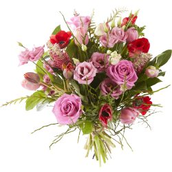 Pink mixed bouquet