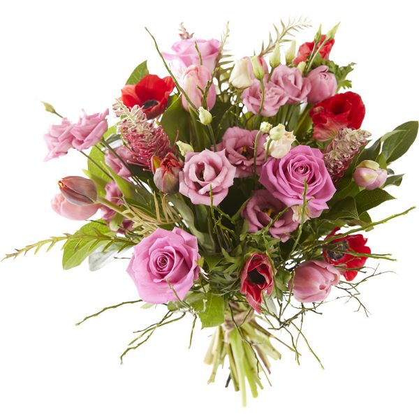 Pink mixed bouquet