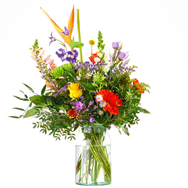 A cheerful bouquet to be delivered in The Hague and surroundings