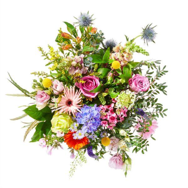Colorful bouquet, a beautiful flower festival