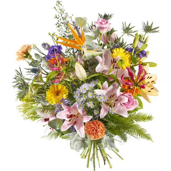 Colorful bouquet for plenty of joy