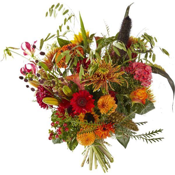 Cheerful autumn bouquet