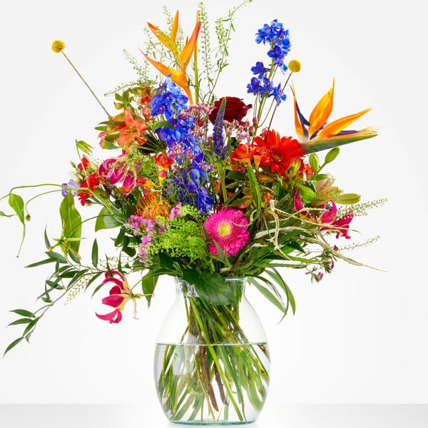 Bouquet Color Explosion, bright an colorful bouqet for delivery in The Netherlands