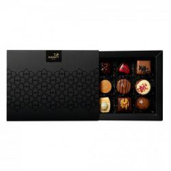 A box with 12 delicious Chocolate Bonbons