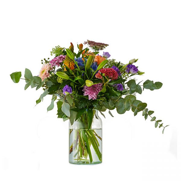 Stunning september bouquet with Hydrangea