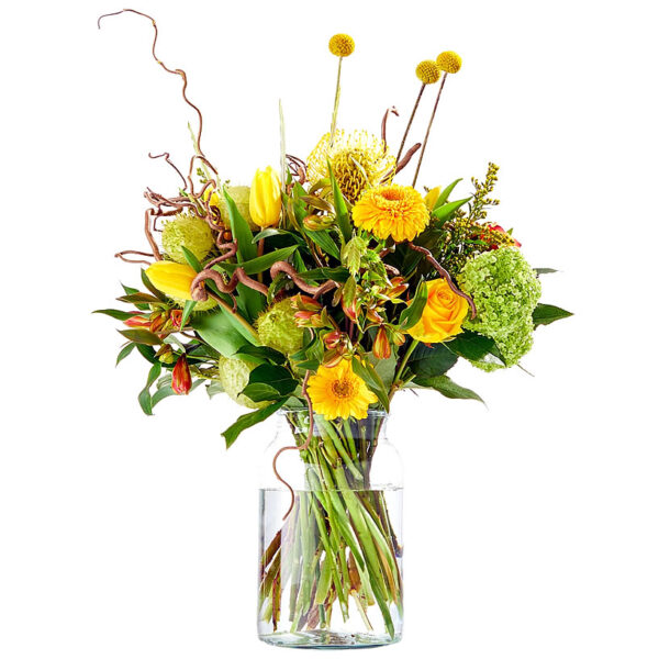 Stunning yellow Easter bouquet