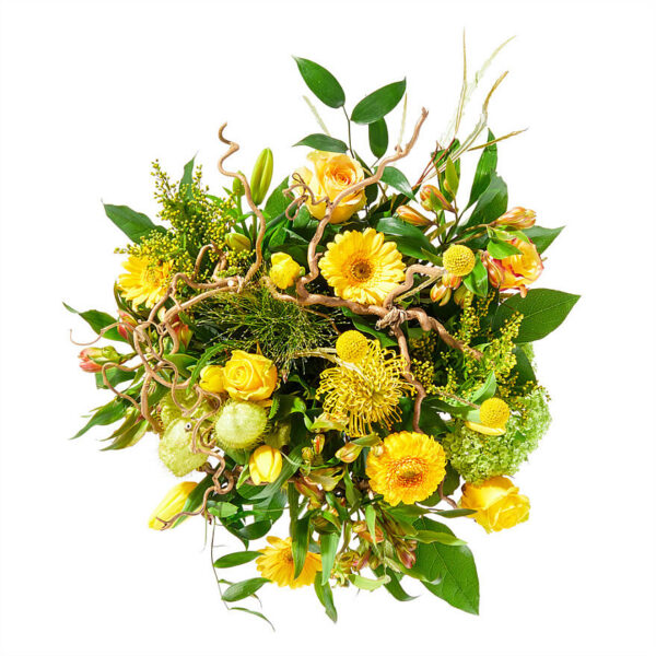 Yellow Easter bouquet