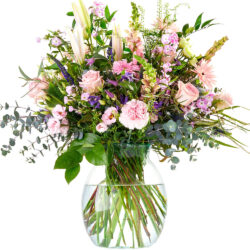 A bouquet for the sweetest with soft pastel shades
